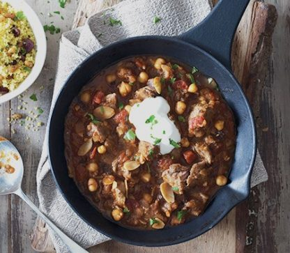 Moroccan Spiced Lamb Tagine